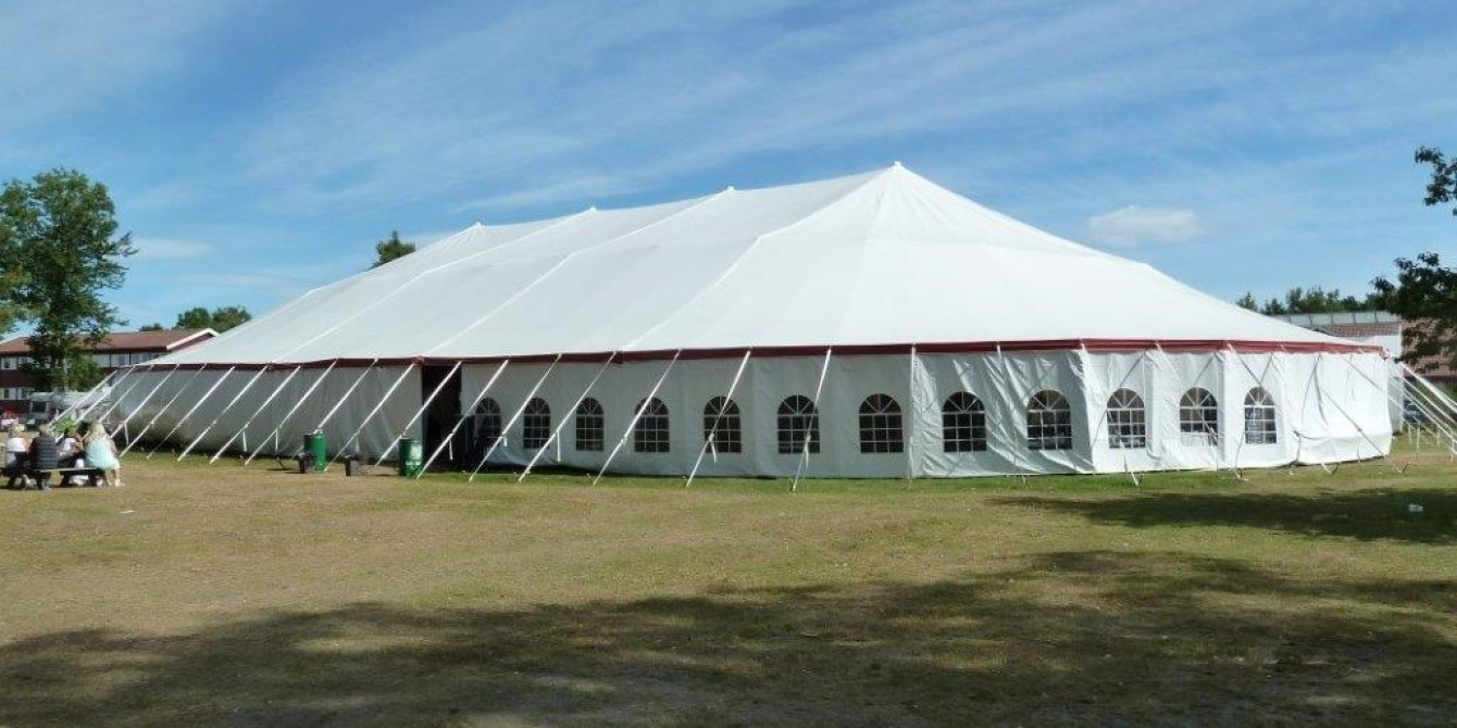 & Your #1 Commercial Pole Tent Manufacturer! | Party Tent Manufacturing